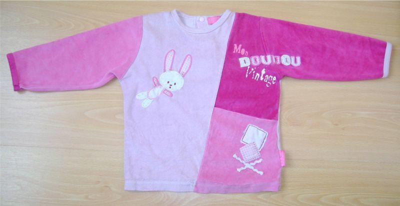 boutique baby superbe ensemble de pyjama avec pieds fille 3 ans. Black Bedroom Furniture Sets. Home Design Ideas