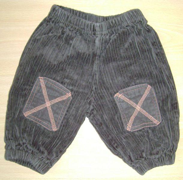 pantalon en velours brun absorba 3 mois.jpg