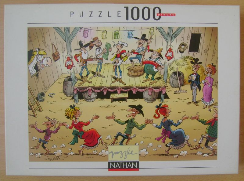 puzzle lucky luke le bal 1000 pieces.jpg