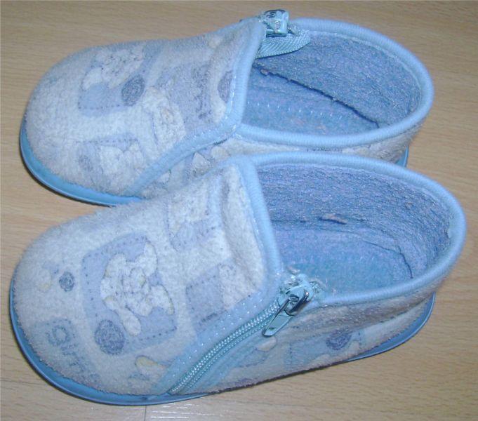 chaussons bleus tooti pointure 22.jpg