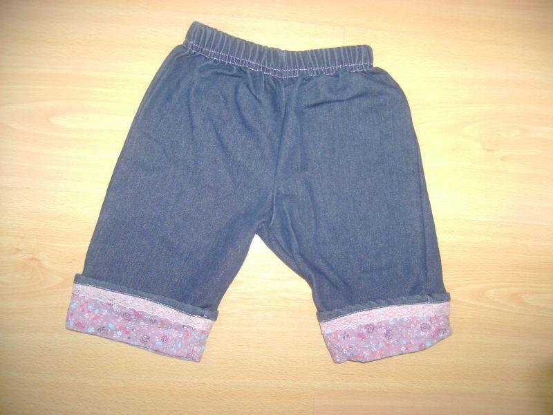 jeans fille Vert Baudet 6 mois.jpg