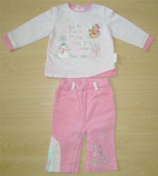 ensemble pull et pantalon rose Disney 1 an.jpg